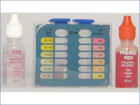 Kit per analisi del Cloro e del PH dell'acqua